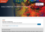 Image link to Gale Diversity Studies