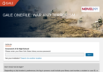 Image link to Gale War & Terrorism