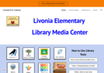 Image link to Livonia Elementary Library Media Site